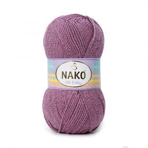 21352 Nako Elit Baby (розово-серый мулине)