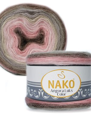 81911 Nako Angora Luks Color