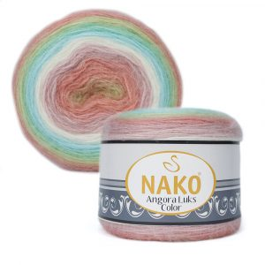 81919 Nako Angora Luks Color
