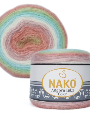 81919 Nako Angora Luks Color