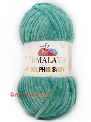 80354 Himalaya Dolphin Baby (зелёная бирюза)