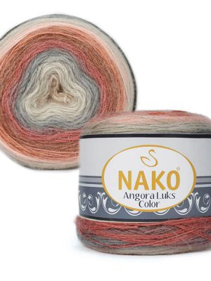 81913 Nako Angora Luks Color