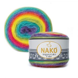 81920 Nako Angora Luks Color