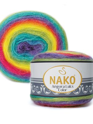81920 Nako Angora Luks Color