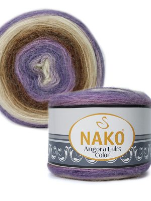 81921 Nako Angora Luks Color