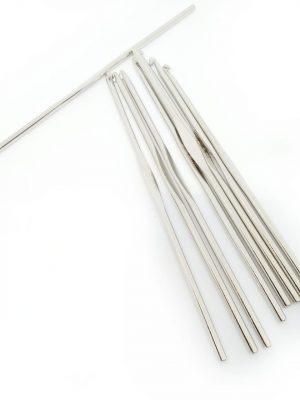 Крючки вязальные (сталь, Индия)