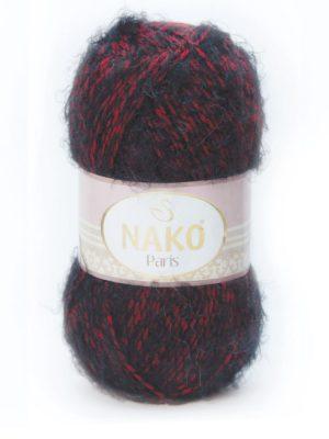 21306 NAKO PARIS (красно серый мулине)
