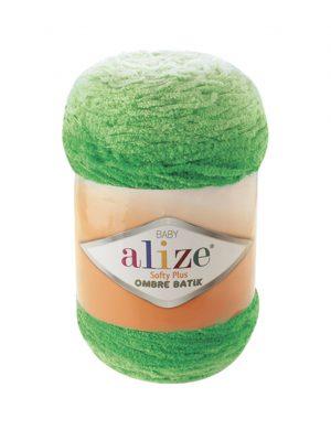 Alize Softy Plus Ombre Batik 7287