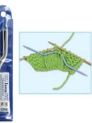 Спицы для кос 2 шт. 2.5-4 мм 12 см (GAMMA)