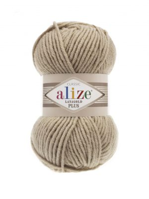 05 Alize Lanagold Plus (бежевый меланж) упаковка