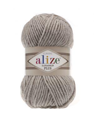 152 Alize Lanagold Plus (бежевый меланж) упаковка