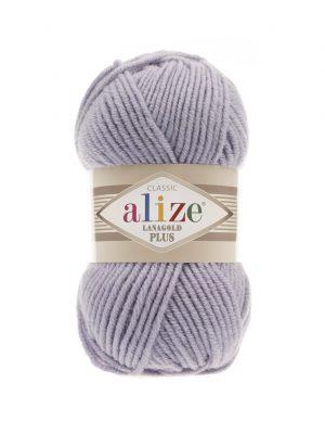 200 Alize Lanagold Plus (светло-серый) упаковка