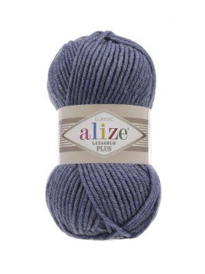 203 Alize Lanagold Plus (джинс меланж) упаковка