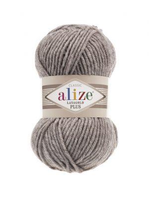 207 Alize Lanagold Plus (светло-коричневый меланж) упаковка