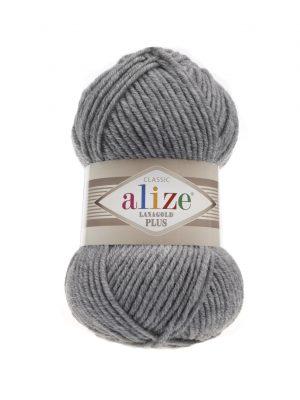 21 Alize Lanagold Plus (серый меланж) упаковка