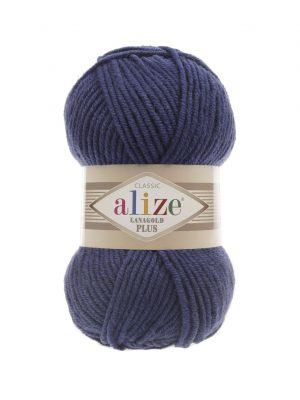 215 Alize Lanagold Plus (черника) упаковка