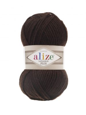 26 Alize Lanagold Plus (коричневый) упаковка