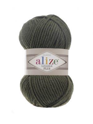 29 Alize Lanagold Plus (хаки) упаковка