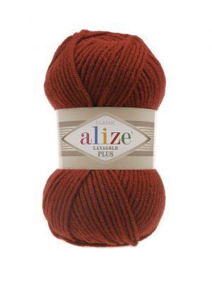 36 Alize Lanagold Plus (терракот) упаковка