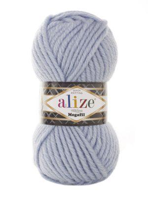 480 Alize Superlana Megafil (светло-голубой)