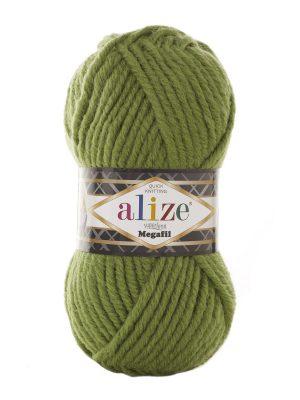 485 Alize Superlana Megafil (зеленая черепаха)