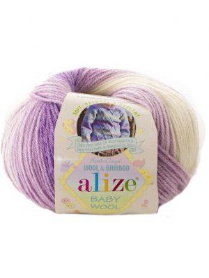 7254 Alize Baby Wool Batik