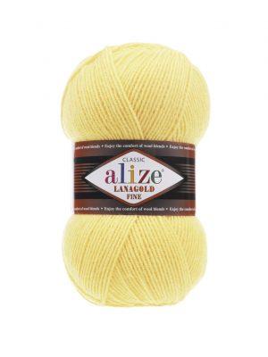 187 Alize Lanagold Fine (светлый-лимон)