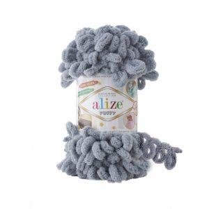 428 Alize Puffy (средне-серый)