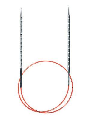 AddiNovel спицы круговые с квадратным кончиком