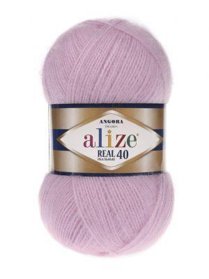 198 Alize Angora Real 40 (розовый)