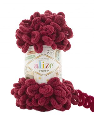 107 Alize Puffy (бордо)