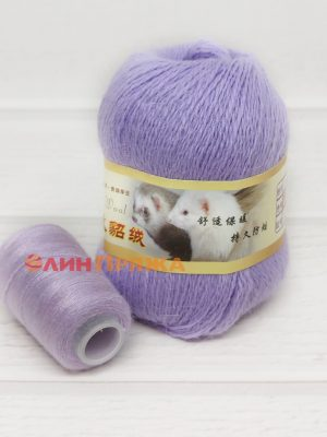 07 НОРКА Long Mink Wool (сирень)