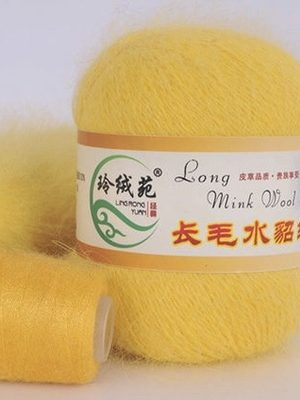 18 НОРКА Long Mink Wool (жёлтый)