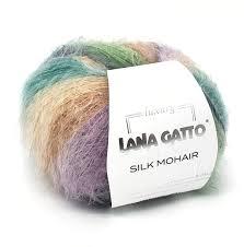 9204 Lana Gatto Silk Mohair Printed